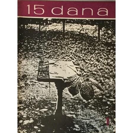 15 DANA ČASOPIS 1962. BROJ 1